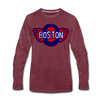 Boston Olympics Long Sleeve T-Shirt - heather burgundy