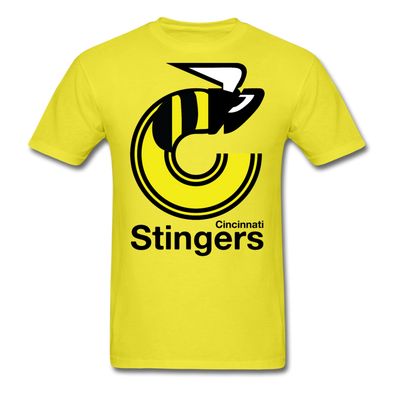 Cincinnati Stingers Yellow T-Shirt - yellow