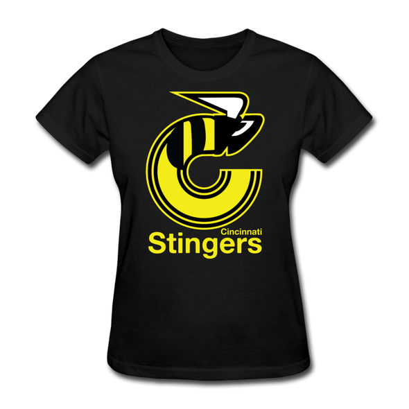 Cincinnati Stingers Women's T-Shirt - black