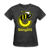 Cincinnati Stingers Women's T-Shirt - heather black