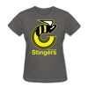 Cincinnati Stingers Women's T-Shirt - charcoal