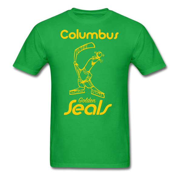Columbus Golden Seals T-Shirt - bright green