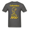 Columbus Golden Seals T-Shirt - charcoal