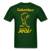 Columbus Golden Seals T-Shirt - forest green
