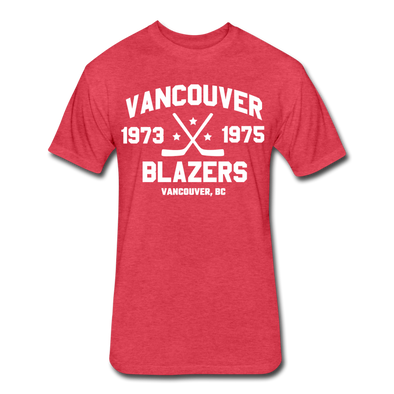 Vancouver Blazers Dated T-Shirt (Premium) - heather red