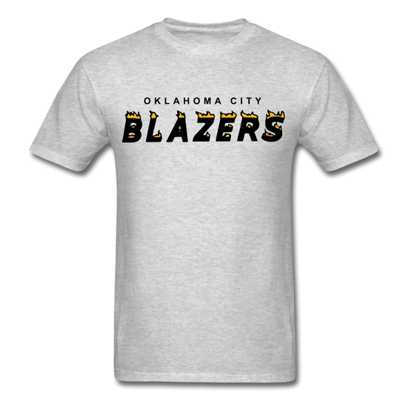 Oklahoma City Blazers T-Shirt - heather gray