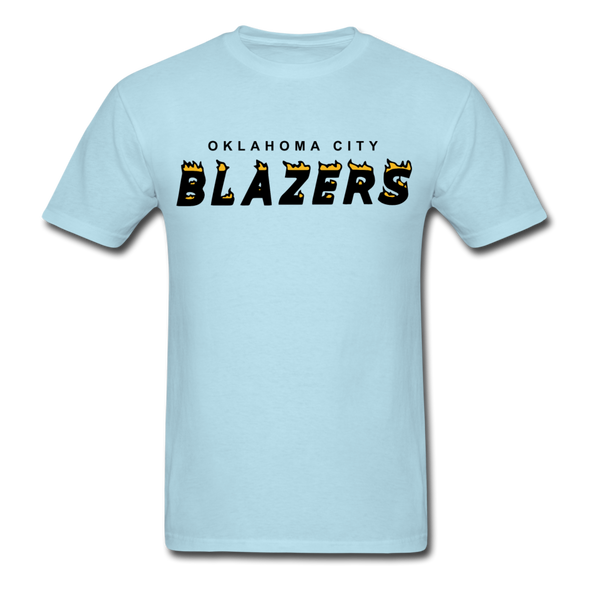 Oklahoma City Blazers T-Shirt - powder blue