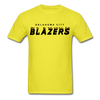 Oklahoma City Blazers T-Shirt - yellow