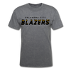 Oklahoma City Blazers T-Shirt - mineral charcoal gray