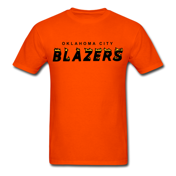 Oklahoma City Blazers T-Shirt - orange