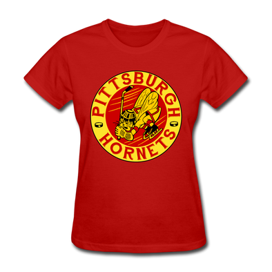 Pittsburgh Hornets Women's T-Shirt - red