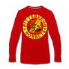 Pittsburgh Hornets Long Sleeve T-Shirt - red