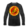 Pittsburgh Hornets Long Sleeve T-Shirt - charcoal gray