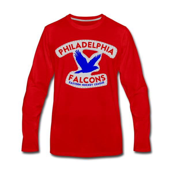 Philadelphia Falcons Long Sleeve T-Shirt - red