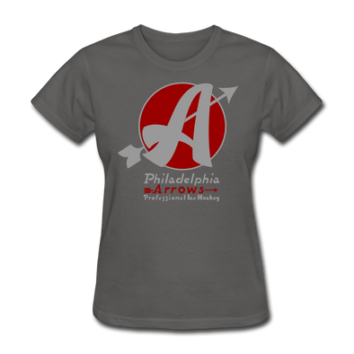 Philadelphia Arrows Women's T-Shirt - charcoal