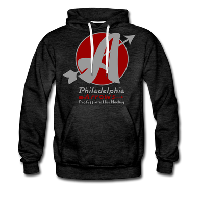 Philadelphia Arrows Hoodie (Premium) - charcoal gray
