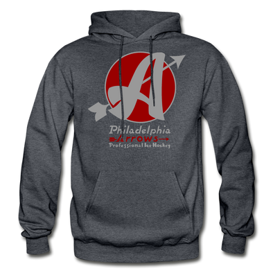 Philadelphia Arrows Hoodie - charcoal gray