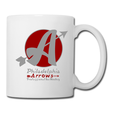 Philadelphia Arrows Mug - white