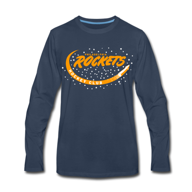 Philadelphia Rockets Long Sleeve T-Shirt - navy