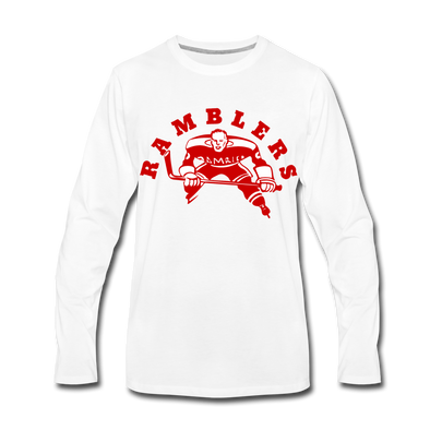 Philadelphia Ramblers Long Sleeve T-Shirt - white