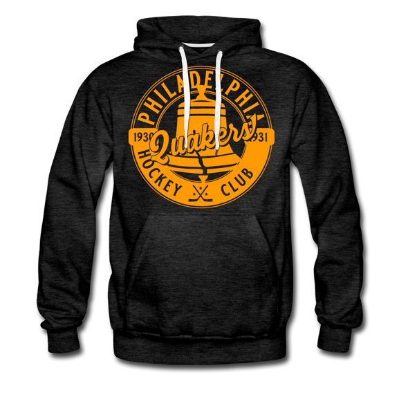 Philadelphia Quakers Hoodie (Premium) - charcoal gray