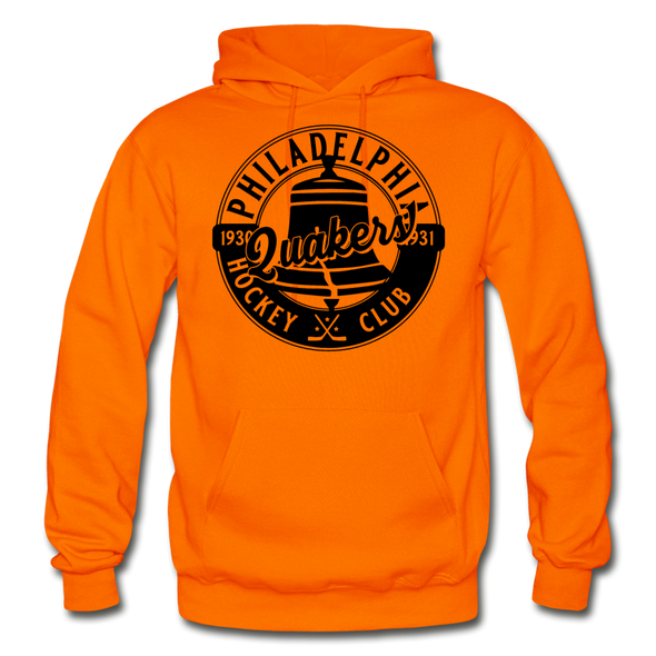 Philadelphia Quakers Hoodie - orange