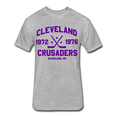 Cleveland Crusaders Dated T-Shirt (Premium) - heather gray