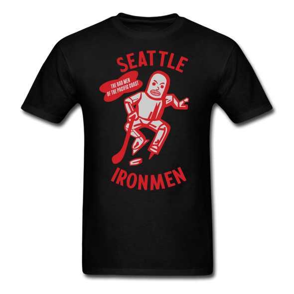Seattle Ironmen T-Shirt - black