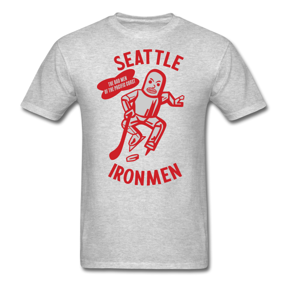 Seattle Ironmen T-Shirt - heather gray
