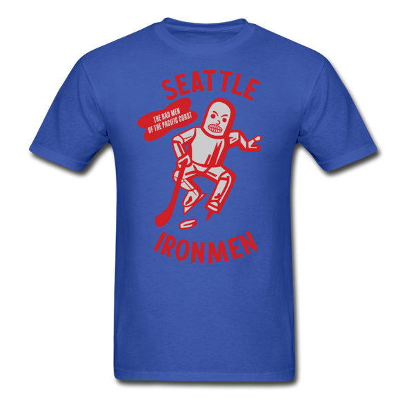 Seattle Ironmen T-Shirt - royal blue