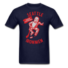 Seattle Ironmen T-Shirt - navy
