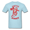 Seattle Ironmen T-Shirt - powder blue