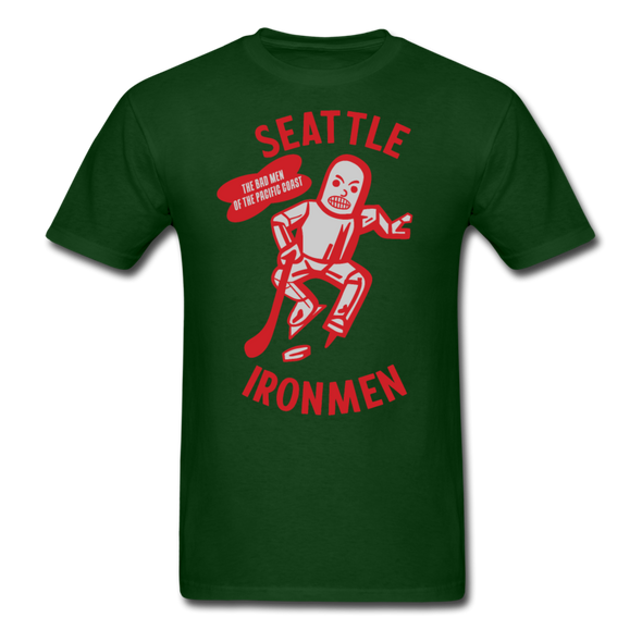 Seattle Ironmen T-Shirt - forest green