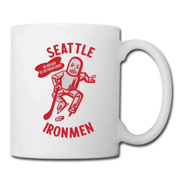 Seattle Ironmen Mug - white