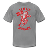 Seattle Ironmen T-Shirt (Premium) - slate