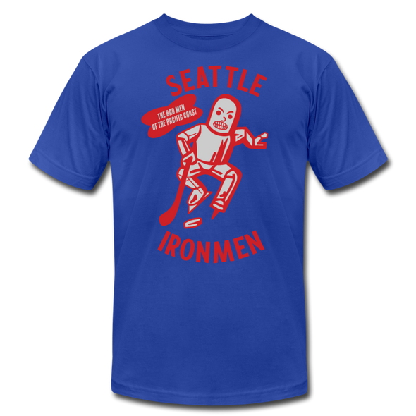 Seattle Ironmen T-Shirt (Premium) - royal blue