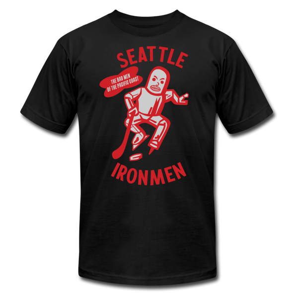 Seattle Ironmen T-Shirt (Premium) - black