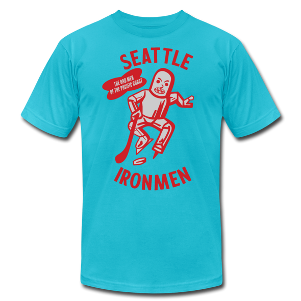 Seattle Ironmen T-Shirt (Premium) - turquoise