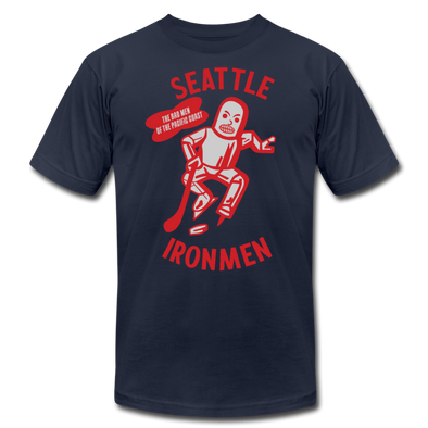 Seattle Ironmen T-Shirt (Premium) - navy