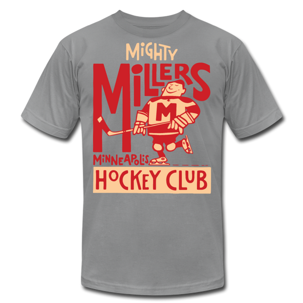 Minneapolis Mighty Millers T-Shirt (Premium Lightweight) - slate