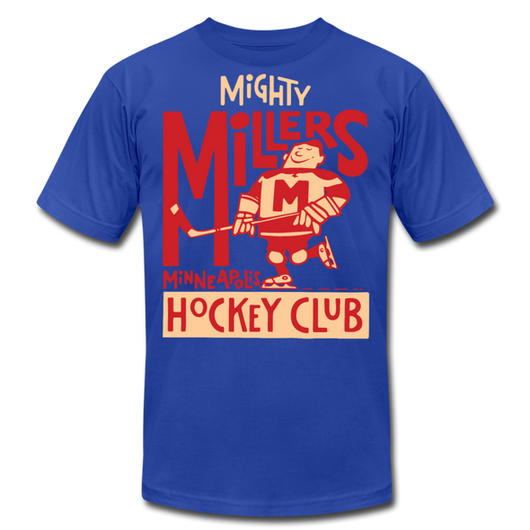 Minneapolis Mighty Millers T-Shirt (Premium Lightweight) - royal blue