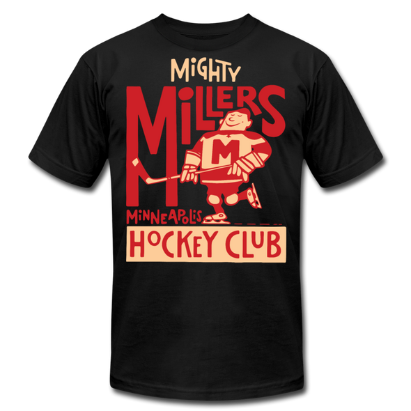 Minneapolis Mighty Millers T-Shirt (Premium Lightweight) - black