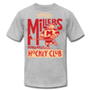 Minneapolis Mighty Millers T-Shirt (Premium Lightweight) - heather gray