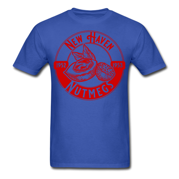 New Haven Nutmegs T-Shirt - royal blue