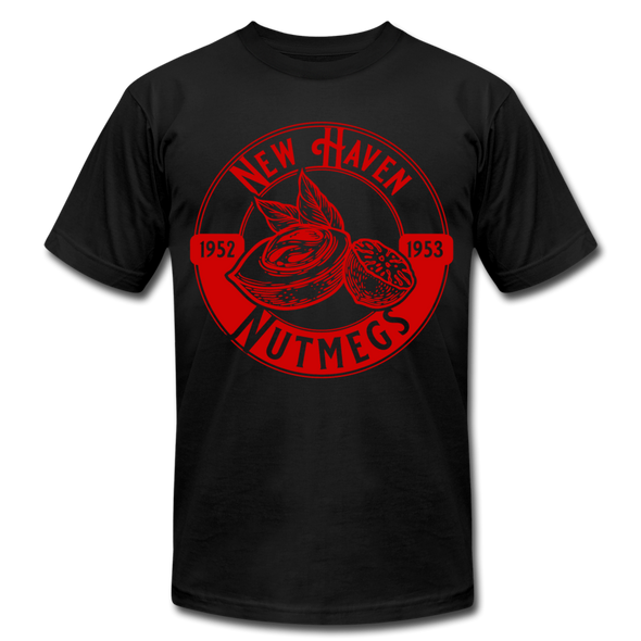 New Haven Nutmegs T-Shirt (Premium Lightweight) - black