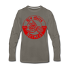 New Haven Nutmegs Long Sleeve T-Shirt - asphalt gray