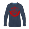 New Haven Nutmegs Long Sleeve T-Shirt - navy