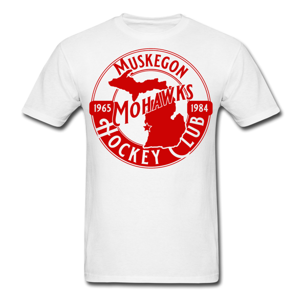 Muskegon Mohawks T-Shirt - white