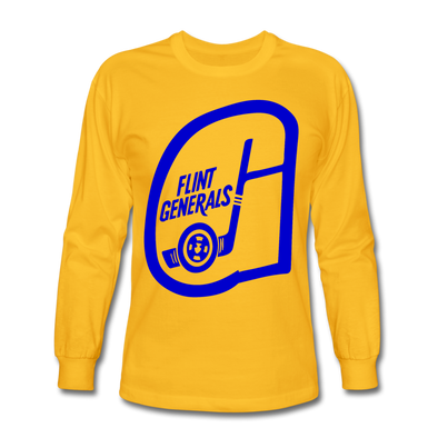 Flint Generals Long Sleeve T-Shirt - gold