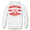 Muskegon Mohawks Dated Hoodie - white